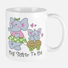Elephant Future Big Sister Mug