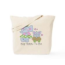Elephant Future Big Sister Tote Bag