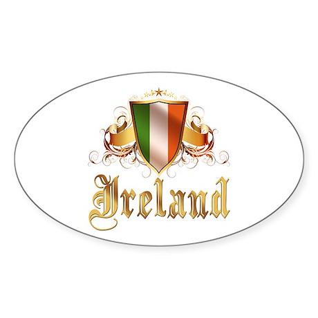 Irish pride Oval Sticker