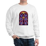 Sweatshirt With Lost Stained Numbers Design