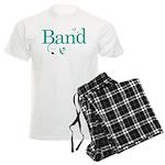 Band Music Swirl Men's Light Pajamas
