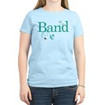 Band Music Swirl Women's Light T-Shirt