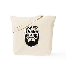 Cute Beard Tote Bag