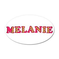 Melanie 22x14 Oval Wall Peel