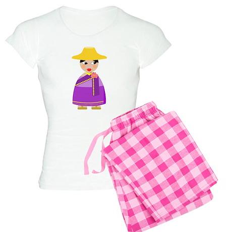 Thai - Matryoshka-style Women's Light Pajamas