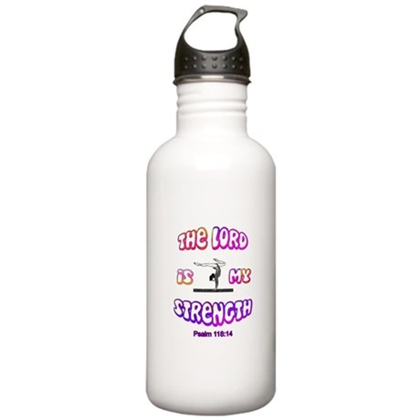 Lord Is My Strength Stainless Water Bottle 1.0L