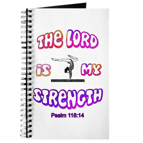 Lord Is My Strength Journal