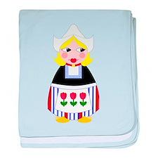 Dutch Matryoshka-style baby blanket