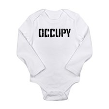 Occupy Long Sleeve Infant Bodysuit