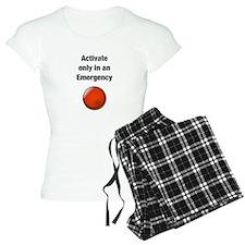 Panic Button Pajamas