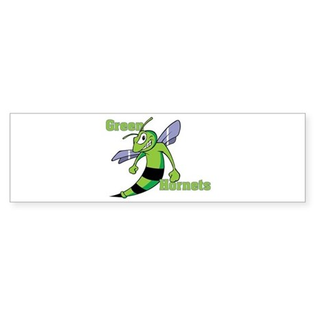 Green Hornets Sticker (Bumper)