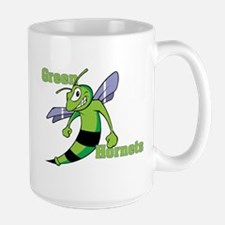 Green Hornets Large Mug