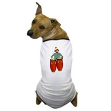Sock Monkey Conga Drums Dog T-Shirt