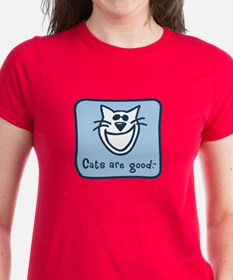 Cats are good. Tee