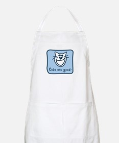 Cats are good. Apron