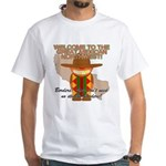 Mexican Illegal Alien White T-Shirt