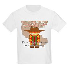 Mexican Illegal Alien Kids T-Shirt