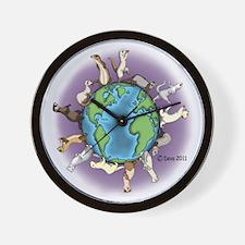Ferret World Wall Clock