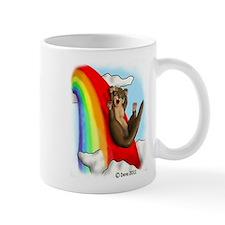 Rainbow Ferret Slide Mug