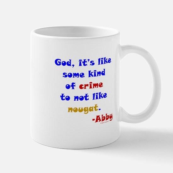 Nougat Crime Mug