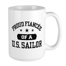 Proud Fiancee of a US Sailor Mug