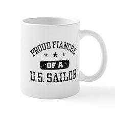 Proud Fiancee of a US Sailor Mug