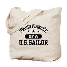 Proud Fiancee of a US Sailor Tote Bag