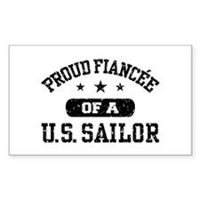 Proud Fiancee of a US Sailor Decal