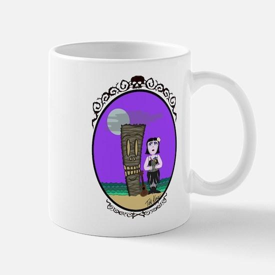 Goth hula girl Mug
