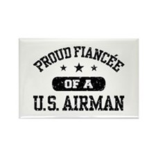 Proud Fiancee of a US Airman Rectangle Magnet