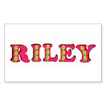 Riley Sticker (Rectangle 50 pk)