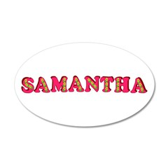 Samantha 22x14 Oval Wall Peel