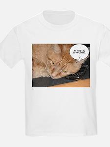 Orange Tabby Cat Humor T-Shirt