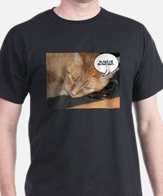 Orange Tabby Cat Humor T-Shirt