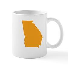 Orange Georgia Mug