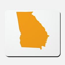 Orange Georgia Mousepad