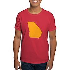Orange Georgia T-Shirt