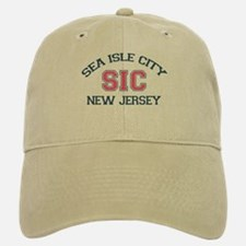 Sea Isle City NJ - Varsity Design Baseball Baseball Cap