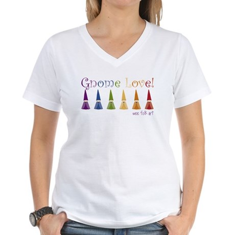 Wee Folk Art Women's V-Neck T-Shirt