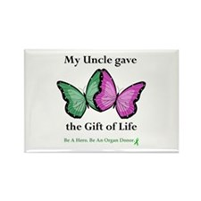 Uncle Donor II Rectangle Magnet