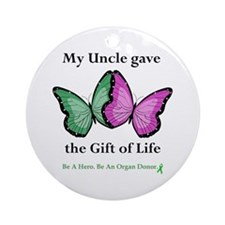 Uncle Donor II Ornament (Round)