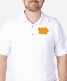 Orange Iowa T-Shirt
