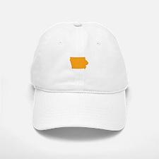 Orange Iowa Baseball Baseball Cap