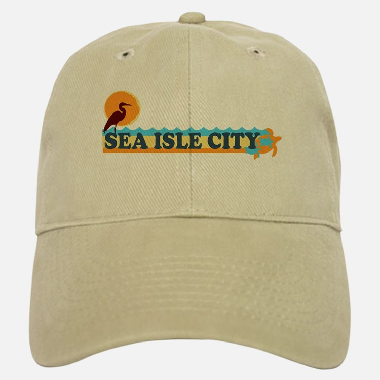 Sea Isle City NJ - Beach Design Baseball Baseball Cap