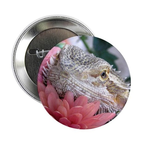 "Bearded Dragon 003 2.25"" Button (10 pack)"