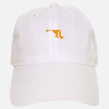 Orange Maryland Baseball Baseball Cap
