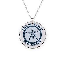 Sea Isle City NJ - Sand Dollar Design Necklace