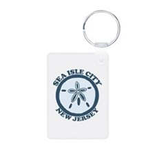 Sea Isle City NJ - Sand Dollar Design Keychains
