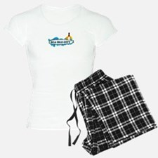 Sea Isle City NJ - Surf Design Pajamas