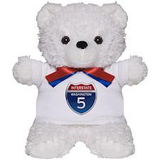 Interstate 5 - Washington Teddy Bear
